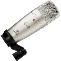 C-3 : Microfone Condensador Behringer C3 Duplo Diafragma