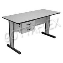 Mesa Para Escritório C/ Gavetas - Recepção - Escrivaninha