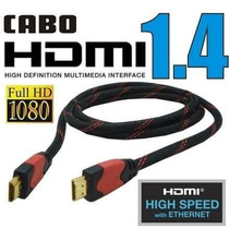 Cabo Hdmi Verso 1.4 Hd Com Saida De Audio E Video Digital