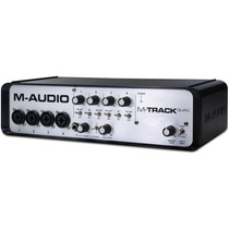 M-audio M-track Quad + Pro Tools Express + Ilok 2