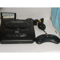 Mega Drive 3 Com O Jogo Do Sonic 2 Leia O Anuncio.