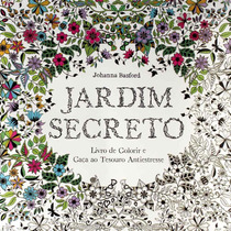 Jardim Secreto Livro De Colorir E Caça Ao Tesouro Antistress