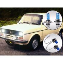 Lâmpada Super Branca Fiat 147 1978 A 1987 Alta Baixa Milha