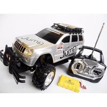 Jeep Rally Carrinho Controle Remoto Recarregável
