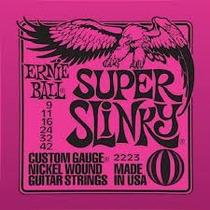 Encordoamento Guitarra Ernie Ball 009 Frete Gratis