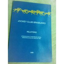 Livro - Jockey Club Brasileiro - 1998 - Relatório