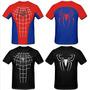 Camiseta Homem Aranha - Emborrachada - Baby Look - Spiderman
