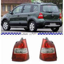 Lanterna Nissan Livina 09 10 11 12 Nova Par