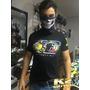 Camisa Estilo Motociclista, Vr46,valentino Rossi, Duas Rodas