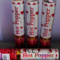 Hot Popper Corações Vermelhos Metálicos!!!