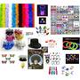 produto Kit Festa Casamento-neon,tiaras,óculos,gravatas,máscaras+fr.