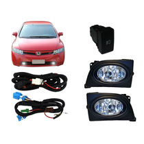 Kit De Farol Auxiliar Neblina New Civic 2006/2008 - Shocklig