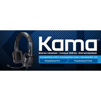 Headset Para Ps4 Tritton Kama Stereo - Ps-vita