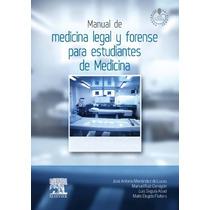 Menéndez Lucas J A Manual De Medicina Legal Y Forense Para E