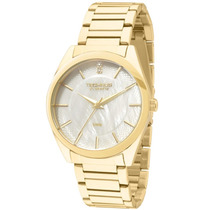 Relógio Feminino Technos Dourado St-moritz 2036lou/4b