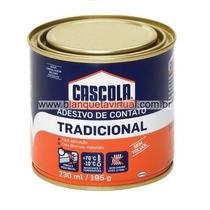 Cola De Sapateiro Cascola Extra Sem Toluol Lata 230ml/195g