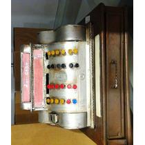 Miniatura Caixa Registradora Antiga Retro Vintage Metal