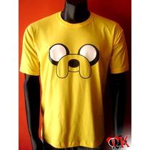 Camiseta Adulto Jake - Hora De Aventura
