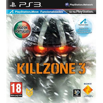 Killzone 3 - Português + 3d - Ps3