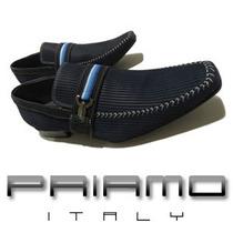 Sapatos Casuais Couro Priamo Italy Courderoy [sz014524]