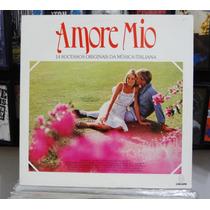 Lp Vinil - Amore Mio - 14 Sucessos Orig. Da Música Italiana