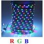 Fita De Led Rgb 3528 + Fonte+controlador+controle 44 Botões