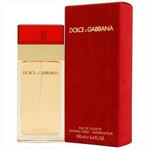 Perfume Feminino D&g Vermelho 100 Ml - Edt - Dolce Gabbana