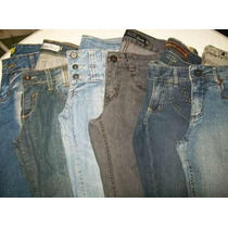 Lote 6 Calças (42) Semi Novas Roupas Usadas Jeans Feminino