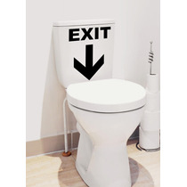 Adesivo Decorativo De Banheiro Decore Seu Ambiente Vaso Box
