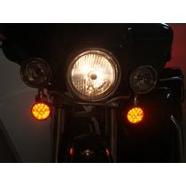 Acessório Harley - Circuito De Led Piscas - Laranja