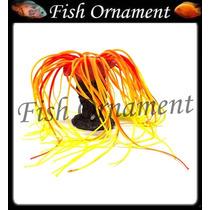 Enfeite De Silicone Esponja Polipo Com Laranja Fish Ornament