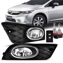Kit Farol De Milha Honda New Civic 2012 /13 /14 Bt Original