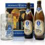 Cerveja Alemã Hb Hofbrau 2 Cervejas 500ml + Caneca Presente