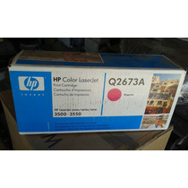 Toner Hp Color Q2673a Magenta Laserjet 3500 3550 Original
