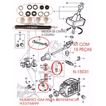 Kit Buchas Reparo Trambulador Cambio Corsa E Vectra C/ Liame