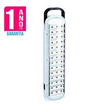 Luminária Luz Emergência 42 Leds Recarregável Garantia 1 Ano