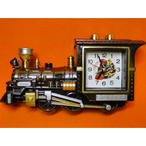 Novidade !!!!!!!!!!! Relogio Modelo Locomotiva Antiga