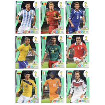Cards Copa 2014 - Adrenalyn Série One To Watch Completa