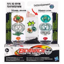 Beyblade Duplo Metal Masters Solid Iron Showdowdown Hasbro