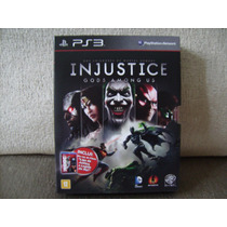 Game Injustice:gods Among Us + Blu-ray Liga Justiça Do Ps3