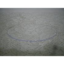 Base Acrilico 14x8 Topo De Bolo Artesanato Em Geral Com 5 Un