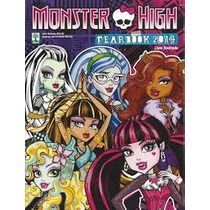 Album Monster High Fearbok 2014 + 50 Figurinhas Diferentes