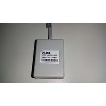 Micro Filtro Duplo Rj 11 Dlink Original Dsl 56sp/br