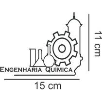Adesivo Decorativo Automotivo Curso Engenharia Quimica