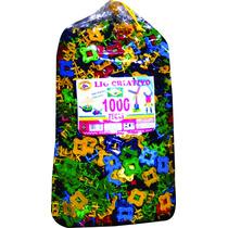 Lig Criativo Blocos De Montar 1000 Peças Brinquedo Educativo