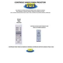 Controle Sanyo Cxyh Para Projetor