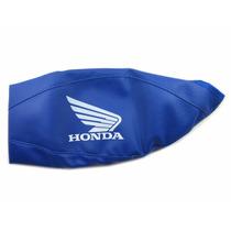 Capa De Tanque Fechada Azul Protercapas - Honda Cg Titan 150