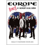 Dvd Europe Live Shepherds Bush London [eua] Novo Lacrado