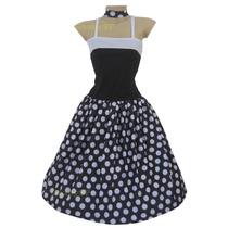 Vestido De Bolinhas - Fantasia Adulto Anos 60 - Anos 50 Poá