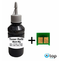 10 Refil Toner 85a 78a 35a 36a 83a 1102 1005 1006 Pó Recarga